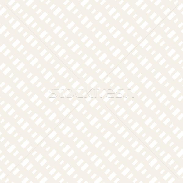 Retângulo forma meio-tom vetor sem costura Foto stock © Samolevsky