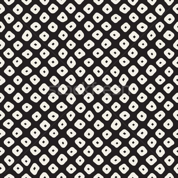 Vettore senza soluzione di continuità bianco nero pattern Foto d'archivio © Samolevsky