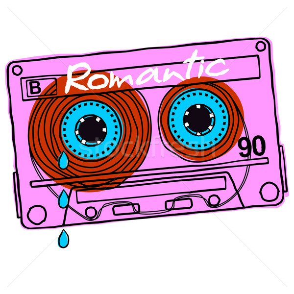 Cassette Romance Stock photo © samorodinov