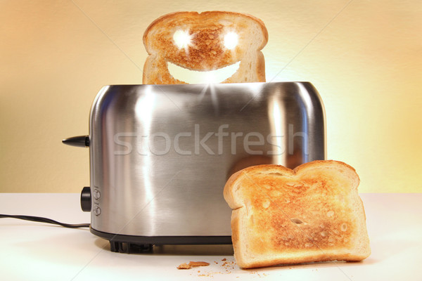 Toaster with two slices of bread  Stock photo © Sandralise