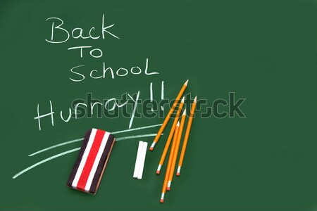 Back to school acessories Stock photo © Sandralise