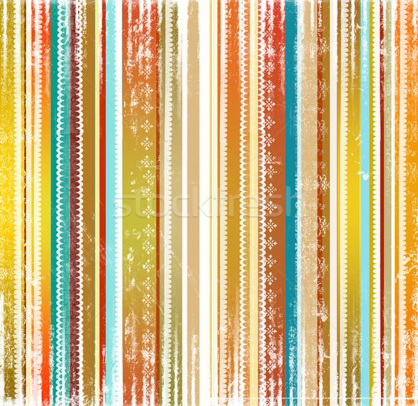 Striped holiday background Stock photo © Sandralise