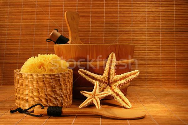 Sauna time Stock photo © Sandralise