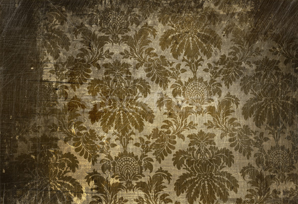 Vintage wallpaper with a grunge affect Stock photo © Sandralise