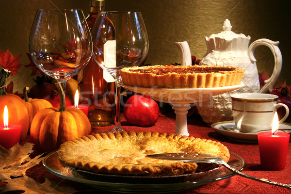 Thanksgiving desserts Stock photo © Sandralise