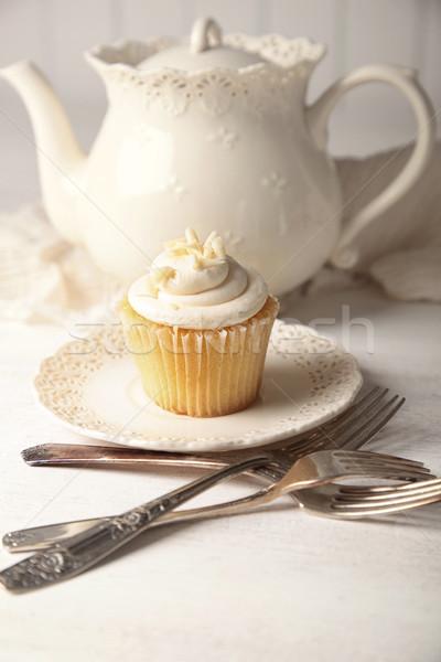 Vanille prêt manger sweet printemps Photo stock © Sandralise