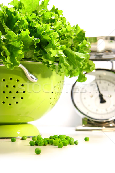 Fresh lettuce in strainer  Stock photo © Sandralise
