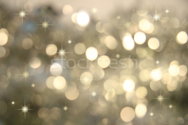 Abstract background of holiday lights Stock photo © Sandralise