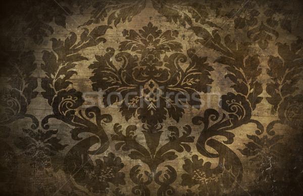 Grungy wallpaper Stock photo © Sandralise