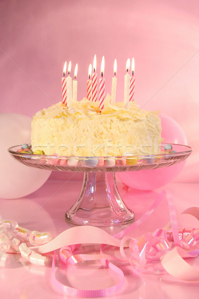 Birthday celebrations Stock photo © Sandralise
