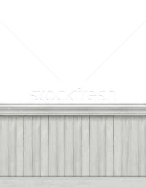Blank backdrop with beadboard  Stock photo © Sandralise