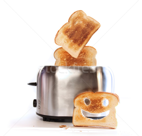 Toaster with slices of toast  Stock photo © Sandralise