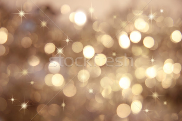 Twinkle, twinkle little stars/Gold Stock photo © Sandralise