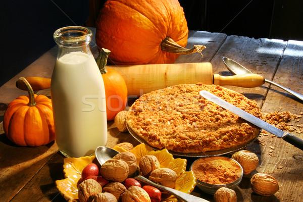 Preparing for holiday desserts Stock photo © Sandralise