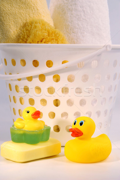 Ducks with towels Stock photo © Sandralise