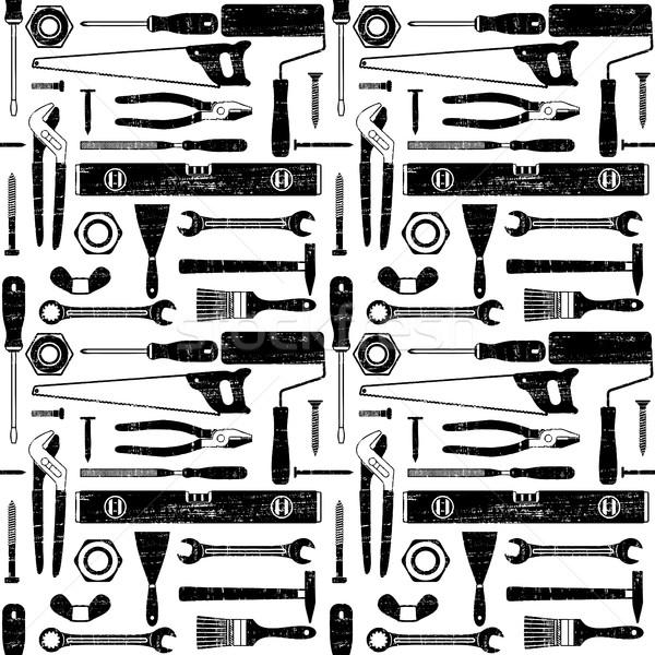 El araçları bağbozumu vektör Stok fotoğraf © sanjanovakovic