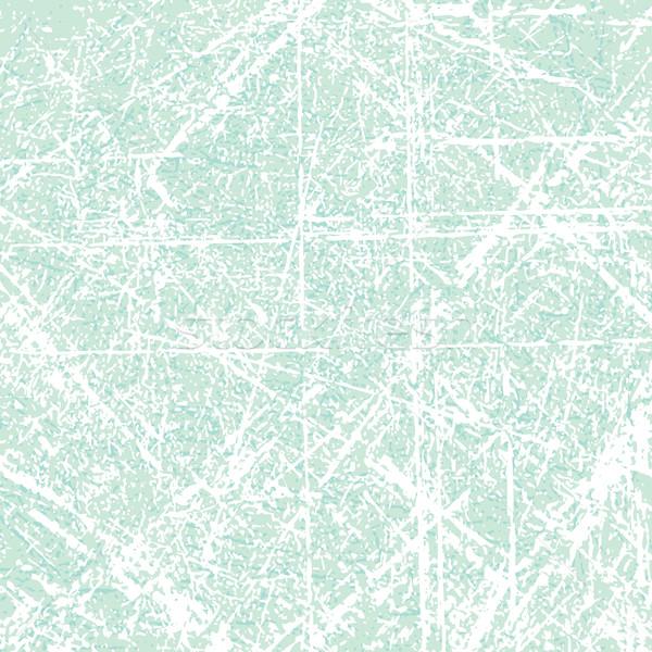 Blue scratched vector background Stock photo © sanjanovakovic