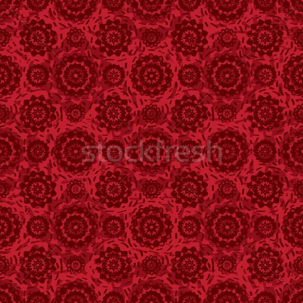 Dekoratif kırmızı vektör renk Stok fotoğraf © sanjanovakovic