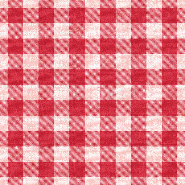 Red textured gingham pattern background 2 Stock photo © sanjanovakovic