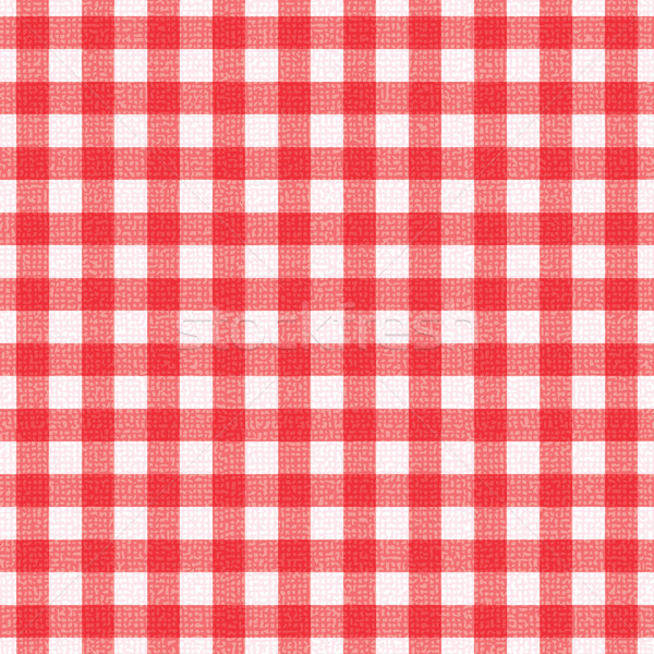 Nappe rouge blanche restaurant texture Photo stock © sanjanovakovic