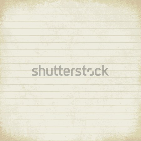 Vintage lined paper vector background 1   Stock photo © sanjanovakovic