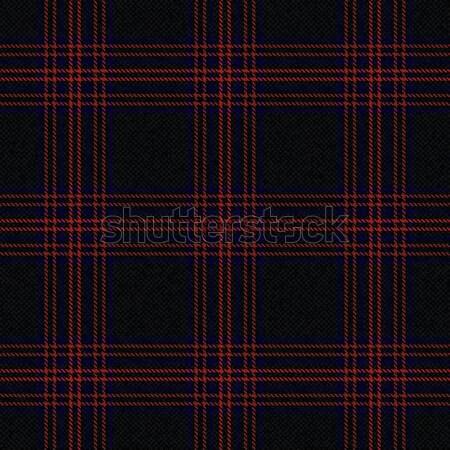 Tartan inspired textured plaid vector background Stock photo © sanjanovakovic