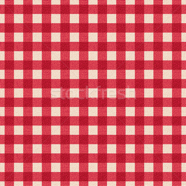 скатерть красный белый ресторан текстуры Сток-фото © sanjanovakovic