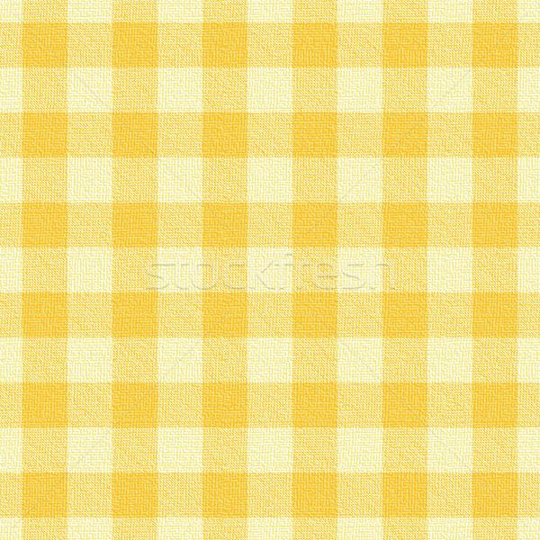желтый шаблон вектора кухне таблице Сток-фото © sanjanovakovic