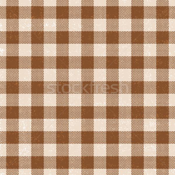 коричневый вектора шаблон продовольствие Сток-фото © sanjanovakovic