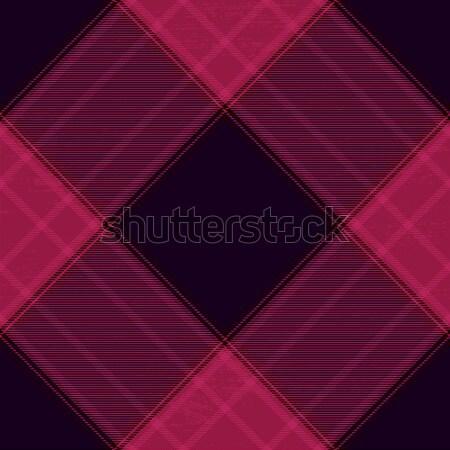 Stok fotoğraf: Mor · diyagonal · model · doku · kumaş · Retro