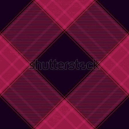 Purple tartan diagonal pattern background  Stock photo © sanjanovakovic