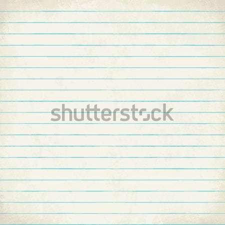 Vintage lined paper vector background 3 Stock photo © sanjanovakovic