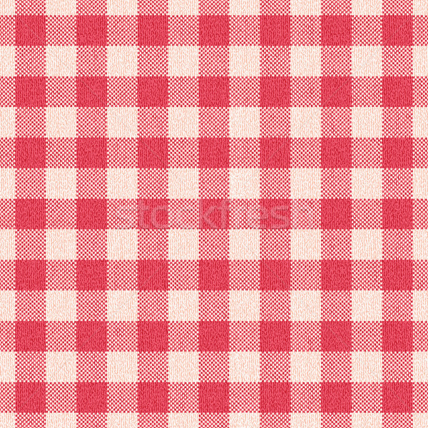 Textured plaid gingham vector pattern background Stock photo © sanjanovakovic