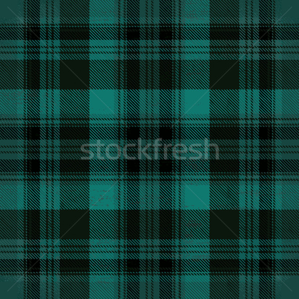 Green vector tartan inspired pattern background 1 Stock photo © sanjanovakovic