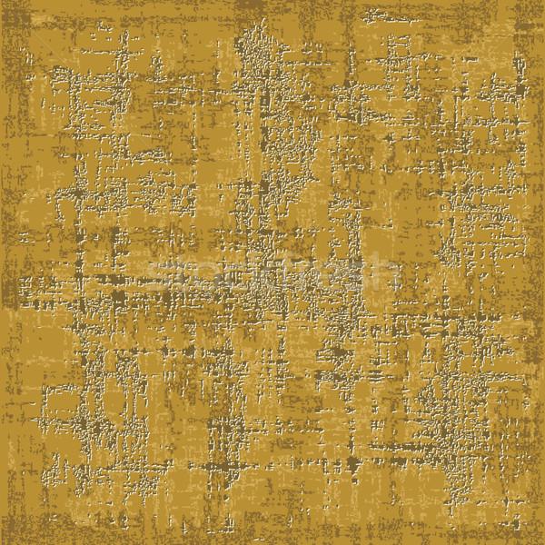 Grunge altın soyulmuş duvar doku boya Stok fotoğraf © sanjanovakovic
