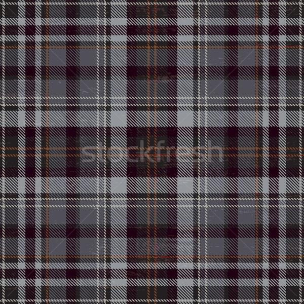 Tartan inspired grunge plaid pattern background 2 Stock photo © sanjanovakovic