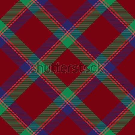 Tartan inspired colorful abstract geometric vector seamless pattern background Stock photo © sanjanovakovic