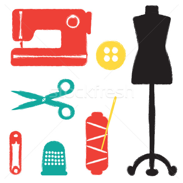 Sewing set Stock photo © sanjanovakovic