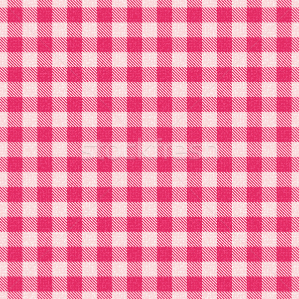 Plaid textured gingham vector pattern background Stock photo © sanjanovakovic
