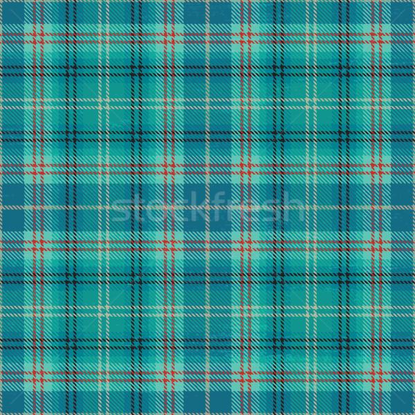 Light blue vector tartan pattern background Stock photo © sanjanovakovic