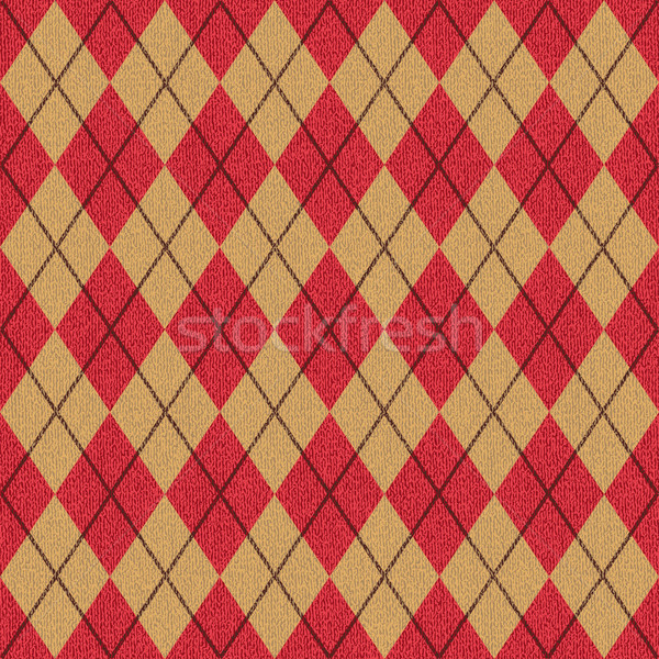 Textured argyle pattern inspired vector background 1