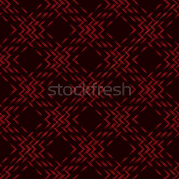 Black and red diagonal tartan background Stock photo © sanjanovakovic