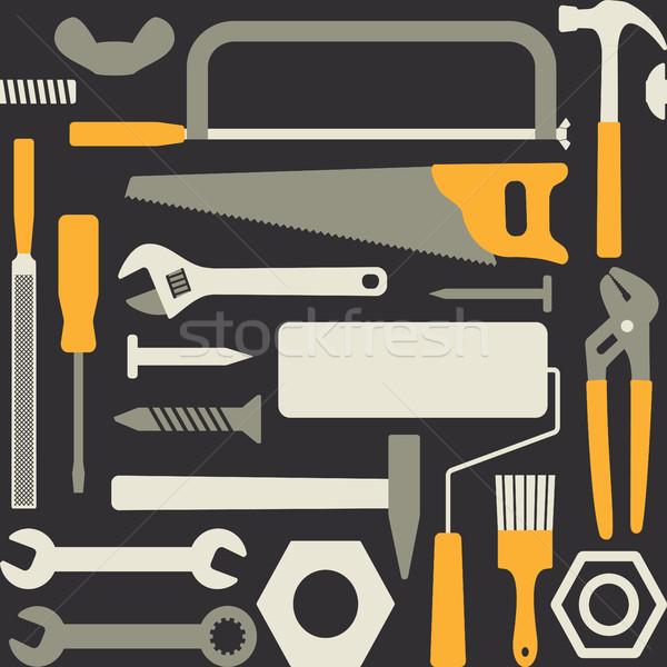 El araçları vektör arka plan Stok fotoğraf © sanjanovakovic