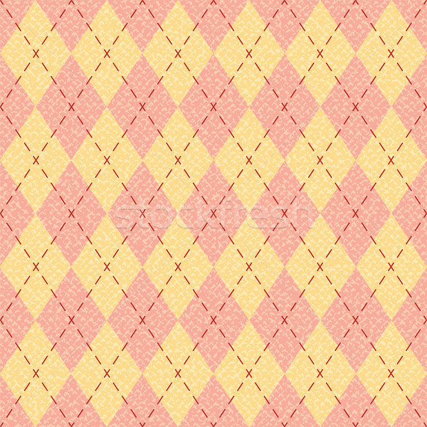 Textured argyle pattern inspired vector background 2