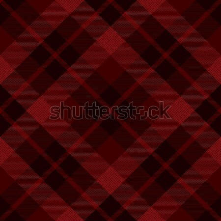 Red diagonal textured tartan inspired background