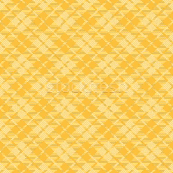 Yellow plaid tartan vector background Stock photo © sanjanovakovic