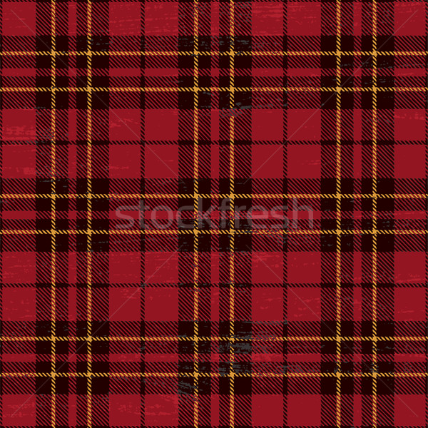 Scratched plaid tartan pattern Stock photo © sanjanovakovic