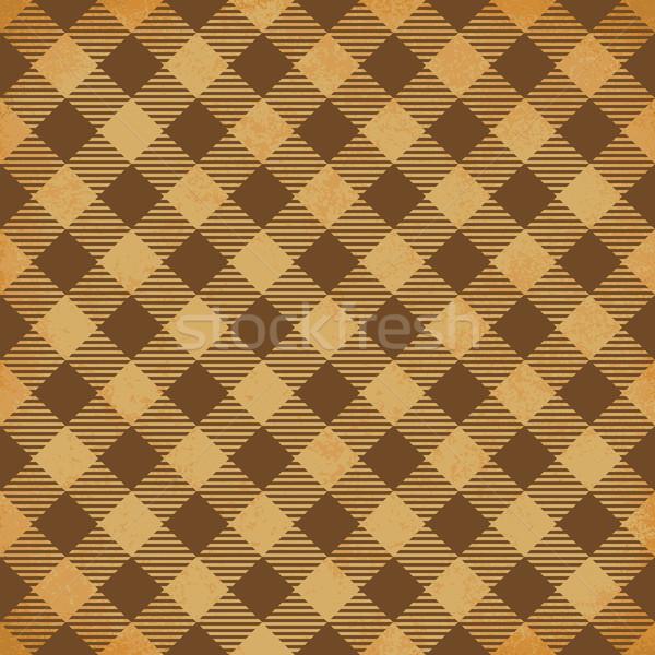 Bağbozumu kahverengi vektör kâğıt Stok fotoğraf © sanjanovakovic