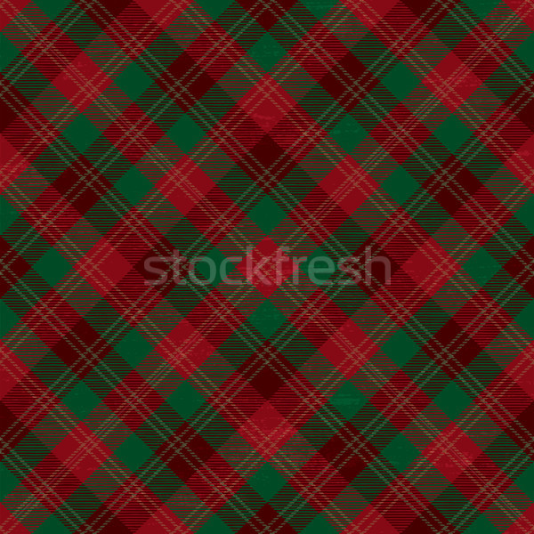 Tartan inspired grunge diagonal plaid pattern background 4 