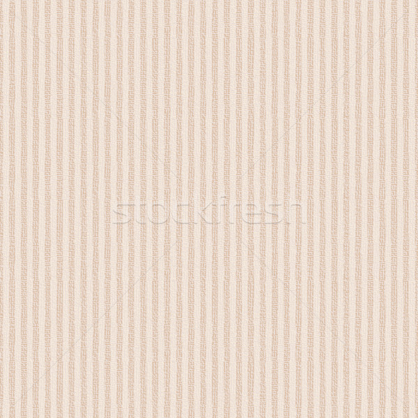 Beige canvas textured vector background with vertical stripes